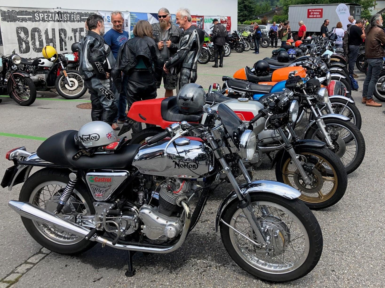 25. Motorradtreffen  Weiler, Vorarlberg (A)
